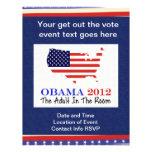 Voto Obama 2012 Flyer A Todo Color