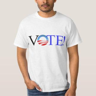 ¡VOTO! Obama 2012 Remera