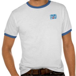VOTO OBAMA 2012 Vintage.png AZULES Camiseta