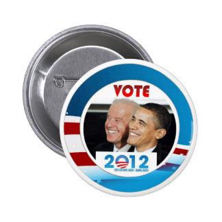 Voto Obama/Biden 2012 Pin Redondo De 2 Pulgadas