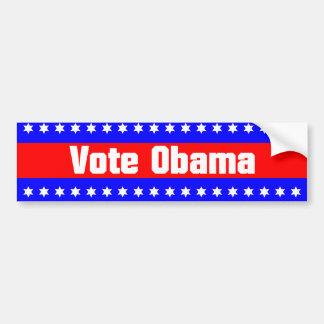 Voto Obama Etiqueta De Parachoque
