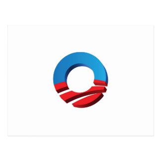 "Voto Obama ""O "" Postales"