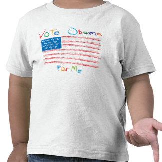 Voto Obama para mí 12 Camisetas