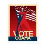 Voto Obama Tarjetas Postales