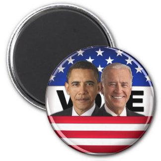 Voto Obama y Biden Imanes Para Frigoríficos