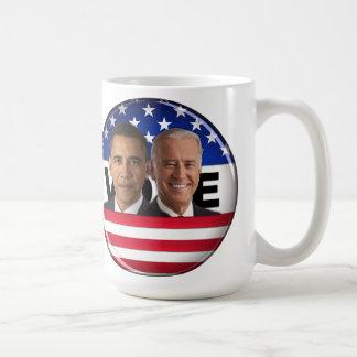 Voto Obama y Biden Taza De Café