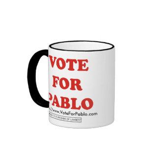 Voto oficial para la taza del campanero de Pablo
