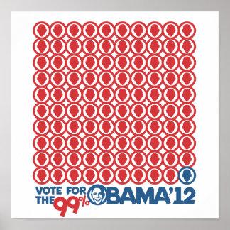 Voto para el 99 por ciento - poster