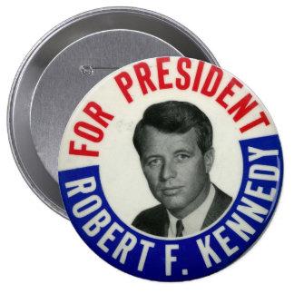 Voto para el botón de la elección de Kennedy Pins