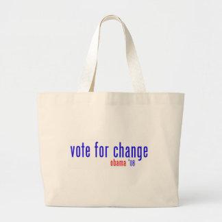 voto para el cambio bolsa