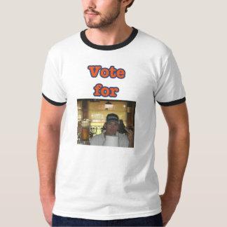 voto para el casquillo polera