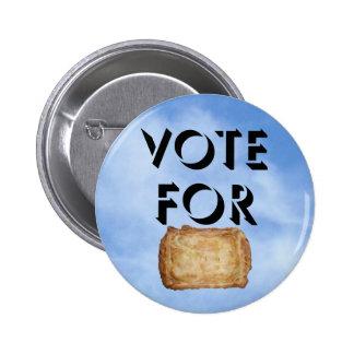 Voto para el castillo en el aire pin redondo de 2 pulgadas
