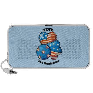 Voto para el Huntsman de Jon Altavoz De Viaje