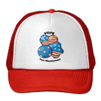 Voto para el Huntsman de Jon Gorras De Camionero