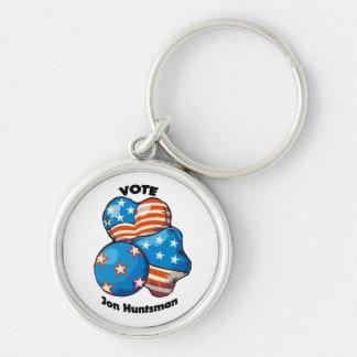 Voto para el Huntsman de Jon Llavero Redondo Plateado