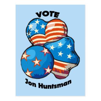Voto para el Huntsman de Jon Postales