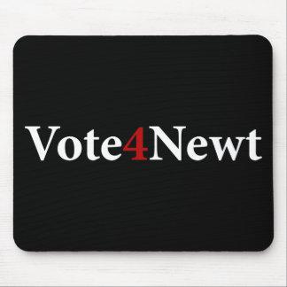 Voto para el Newt Alfombrilla De Ratones