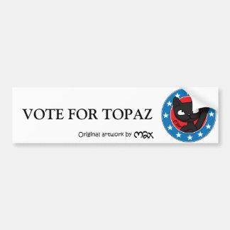 VOTO PARA el parachoque Sticker2 del TOPAZ Pegatina De Parachoque
