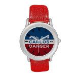 Voto para el reloj del peligro de Carlos