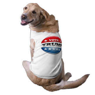 Voto para el triunfo 2016 playera sin mangas para perro