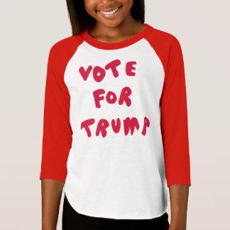 VOTO PARA el TRIUNFO - camiseta del raglán de Camisas