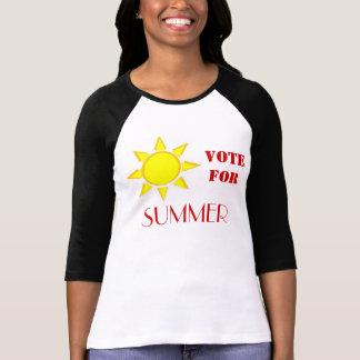 Voto para el VERANO 2 Camiseta
