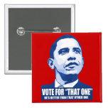 Voto para ese un botón pins