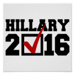 VOTO PARA HILLARY 2016.png Poster