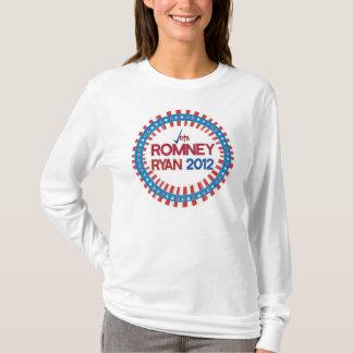 Voto para la camiseta 2012 de Romney Ryan