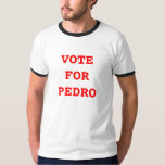 Voto para la camiseta de Pedro