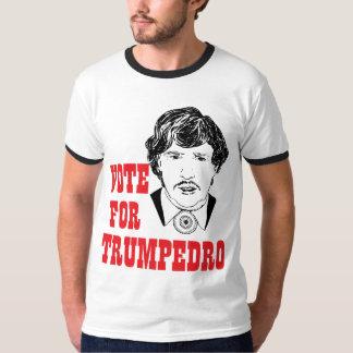 VOTO PARA la camiseta para hombre del humor Poleras