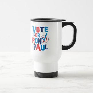 Voto para la elección 2012 de Ron Paul Taza Térmica