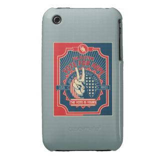 Voto para la esperanza carcasa para iPhone 3