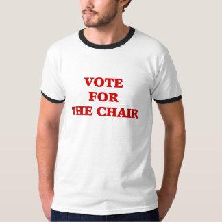 Voto para la silla Obama invisible Playera