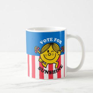 Voto para la sol taza clásica