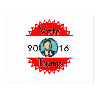 Voto para las elecciones de los E.E.U.U. del Postales