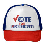 Voto para las nueces de Deez Gorro
