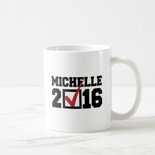 VOTO PARA MICHELLE 2016 - .PNG TAZAS DE CAFÉ