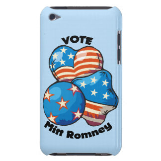 Voto para Mitt Romney Case-Mate iPod Touch Cárcasa