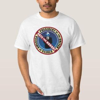 Voto para nadie camiseta