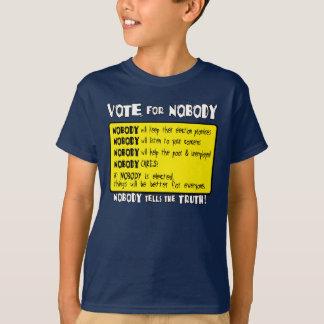 Voto para nadie… playera