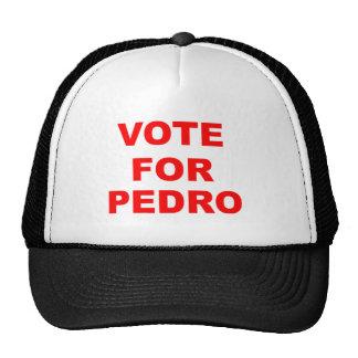Voto para Pedro Gorras