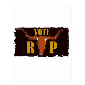 Voto para Perry Postal