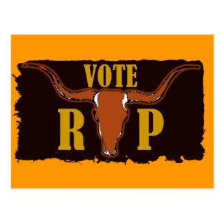 Voto para Perry Tarjeta Postal
