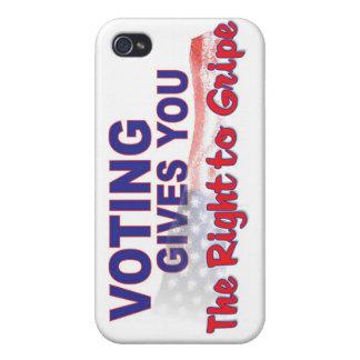 voto para que la derecha se queje iPhone 4/4S fundas