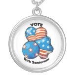 Voto para Rick Santorum Colgantes