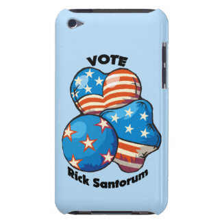 Voto para Rick Santorum Barely There iPod Cárcasa