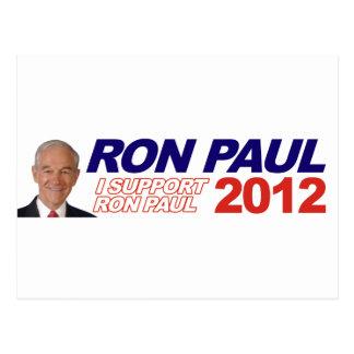 Voto para Ron Paul - presidente 2012 de la elecció Postal