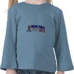 Voto para Ron Paul - presidente 2012 de la Camisetas