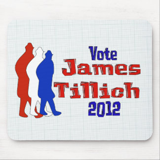 Voto para Tillich Tapetes De Ratón